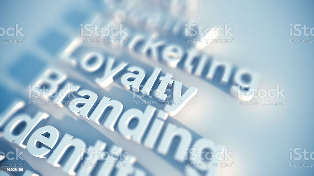 Brand and marketing stock photo