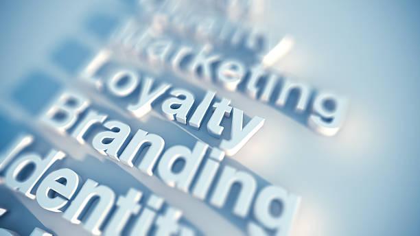 Brand and marketing stock photo