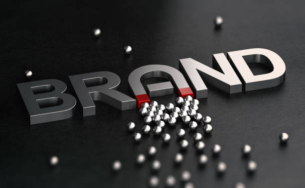 Brand Awareness and Attractiveness. Customer Relationship Building. stock photo