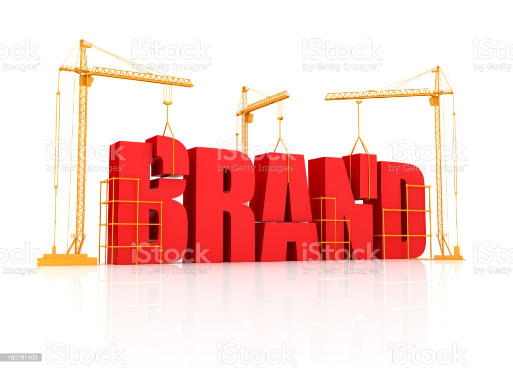 Brand Building stock photo