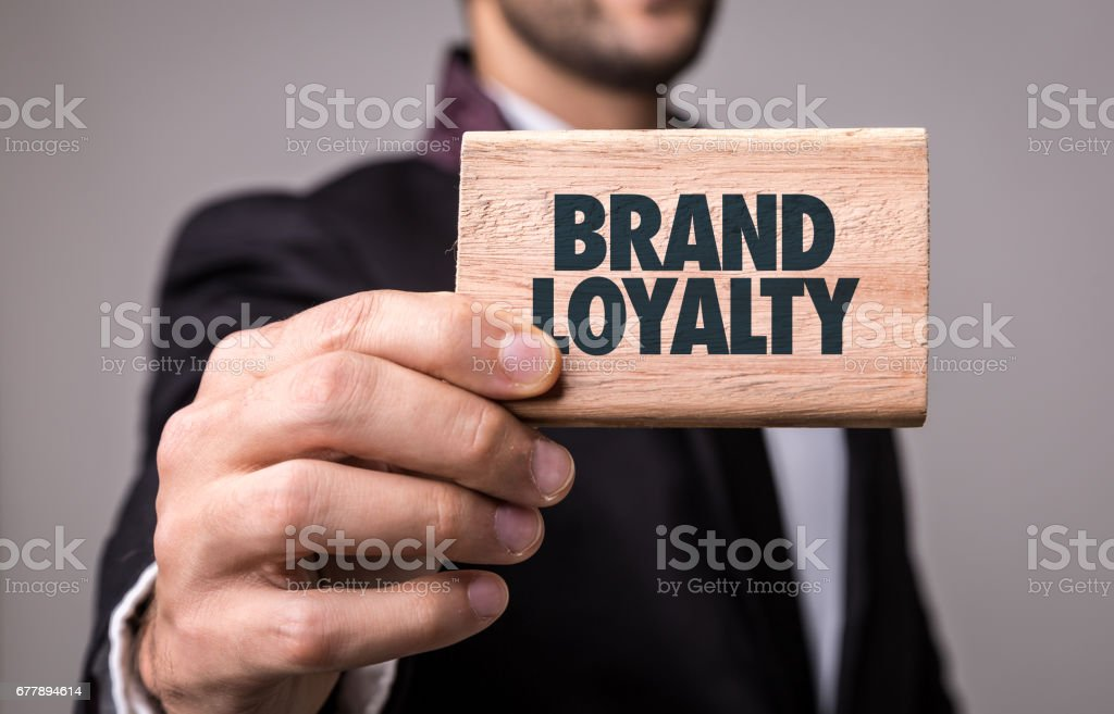 Brand Loyalty stock photo