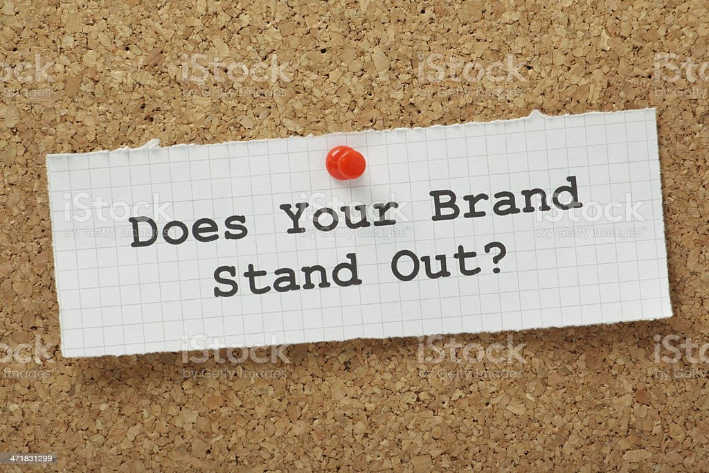 Brand Marketing Concept royalty-free stock photo