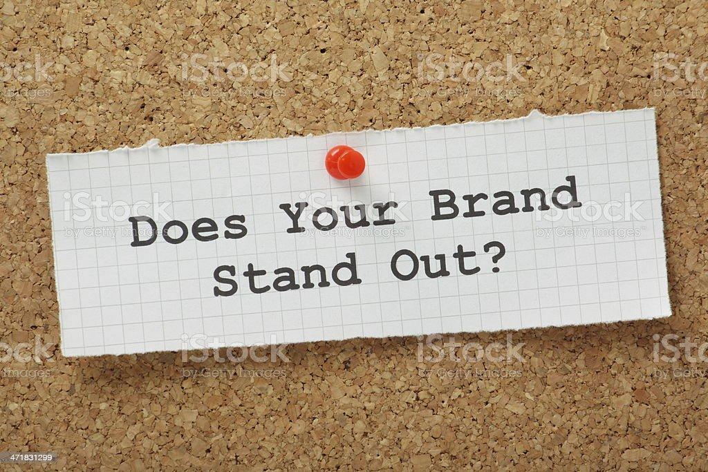 Brand Marketing Concept stock photo