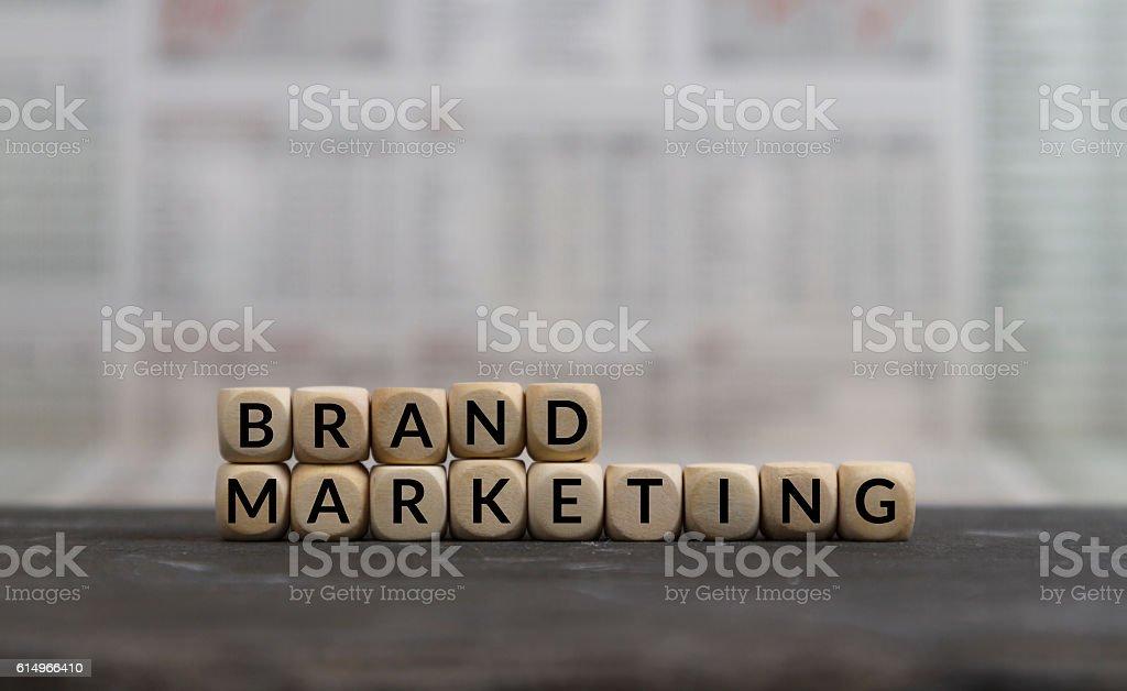 Brand Marketing stock photo