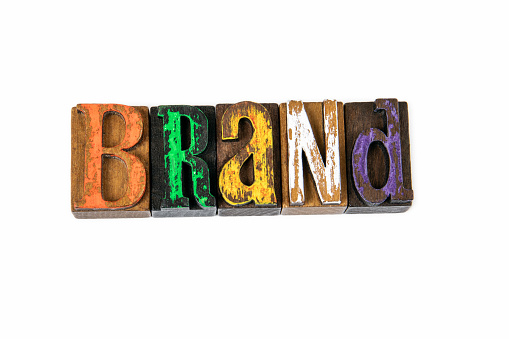 1150734727 istock photo Brand. Marketing, trust, identity and logo, abstract background 1199412453