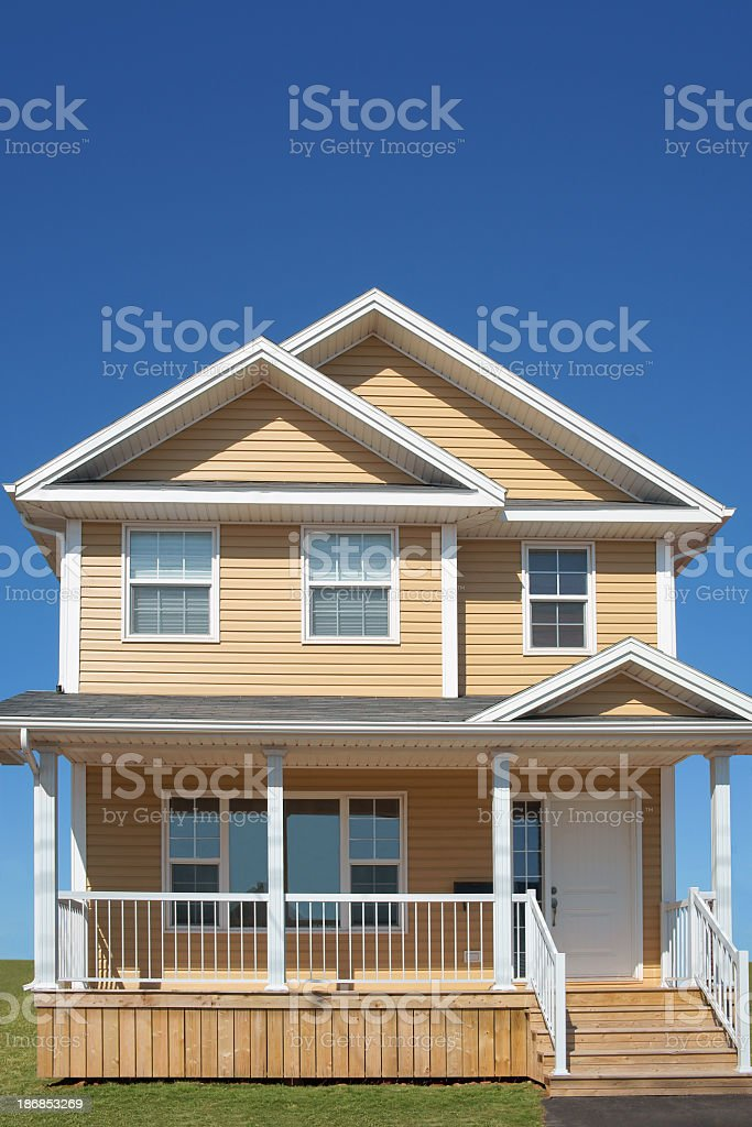 Brand new house. royalty-free stock photo