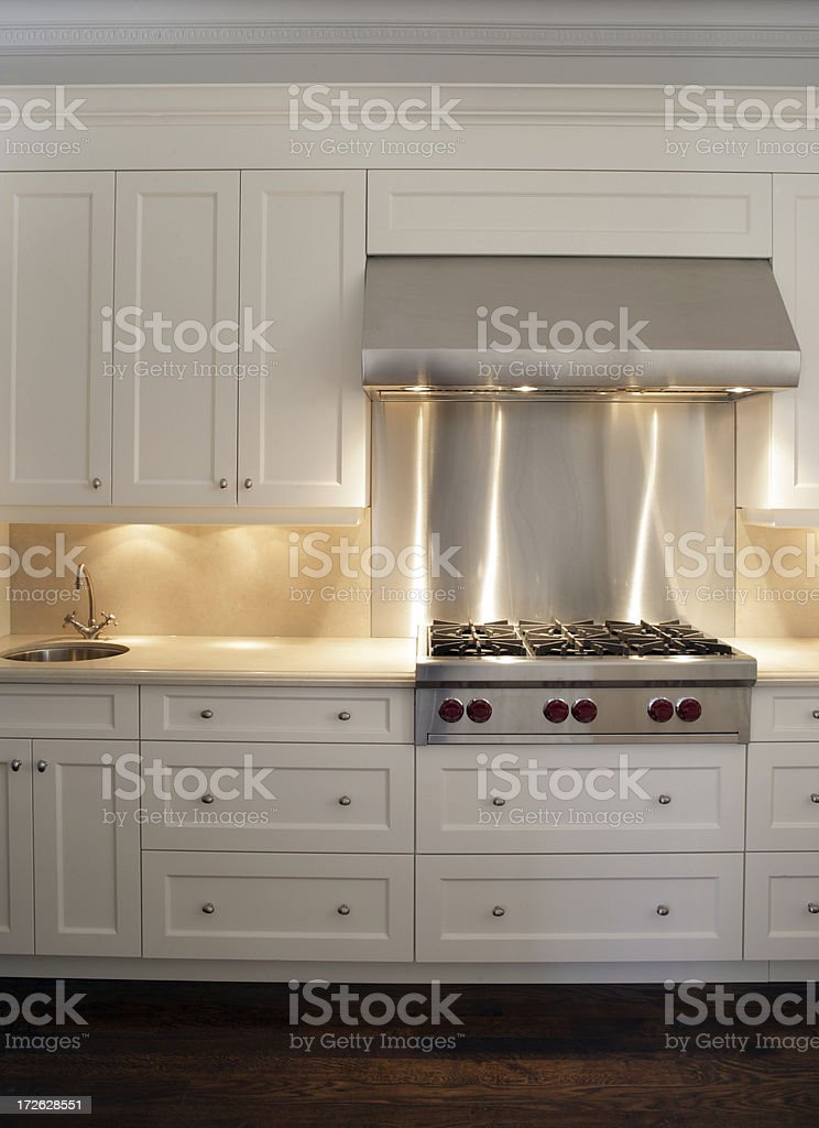 Brand New Kitchen royalty-free stock photo