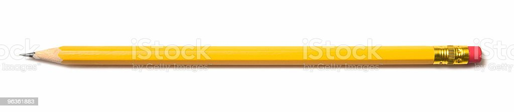 Brand New Pencil stock photo