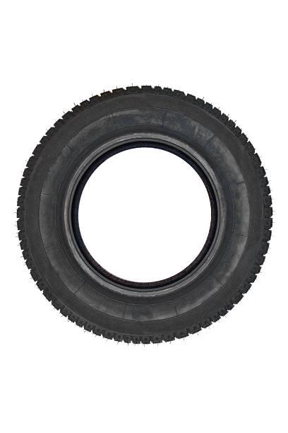 Brand new tire stock photo