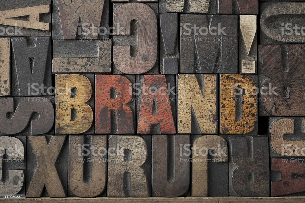 Brand royalty-free stock photo