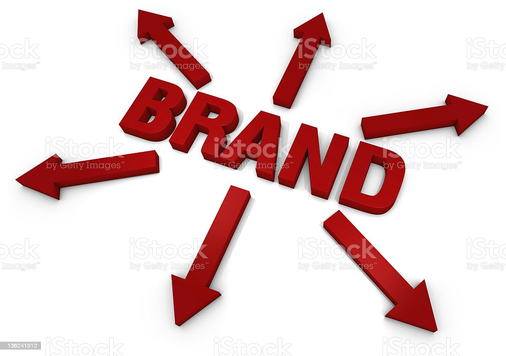 Brand royalty-free stock photo