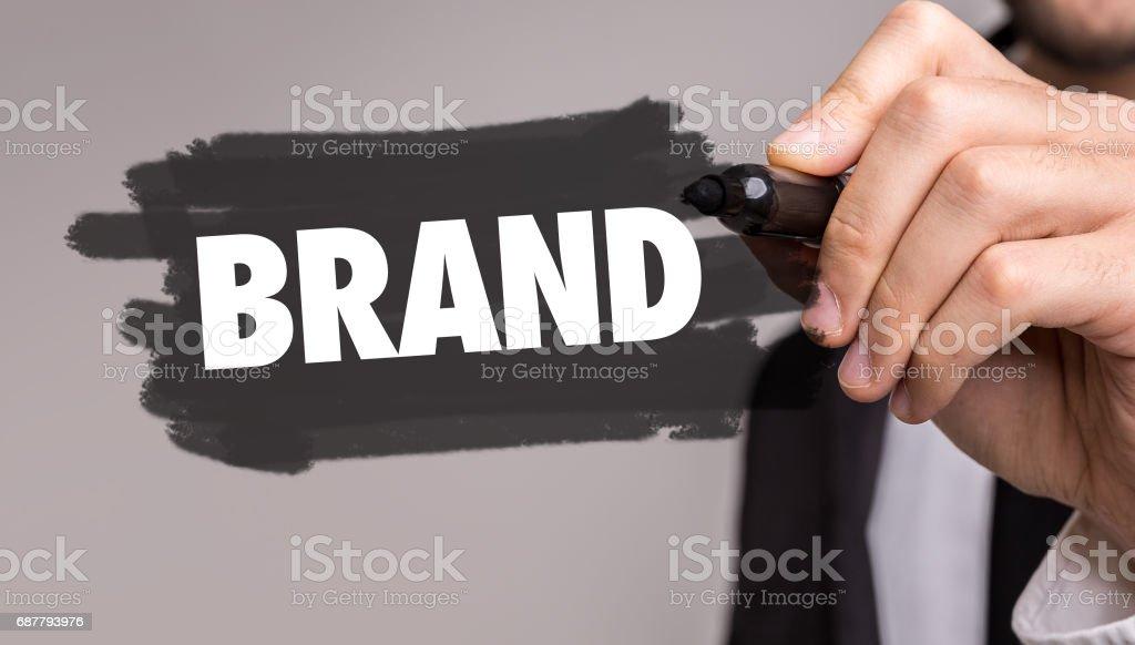 Brand - foto stock