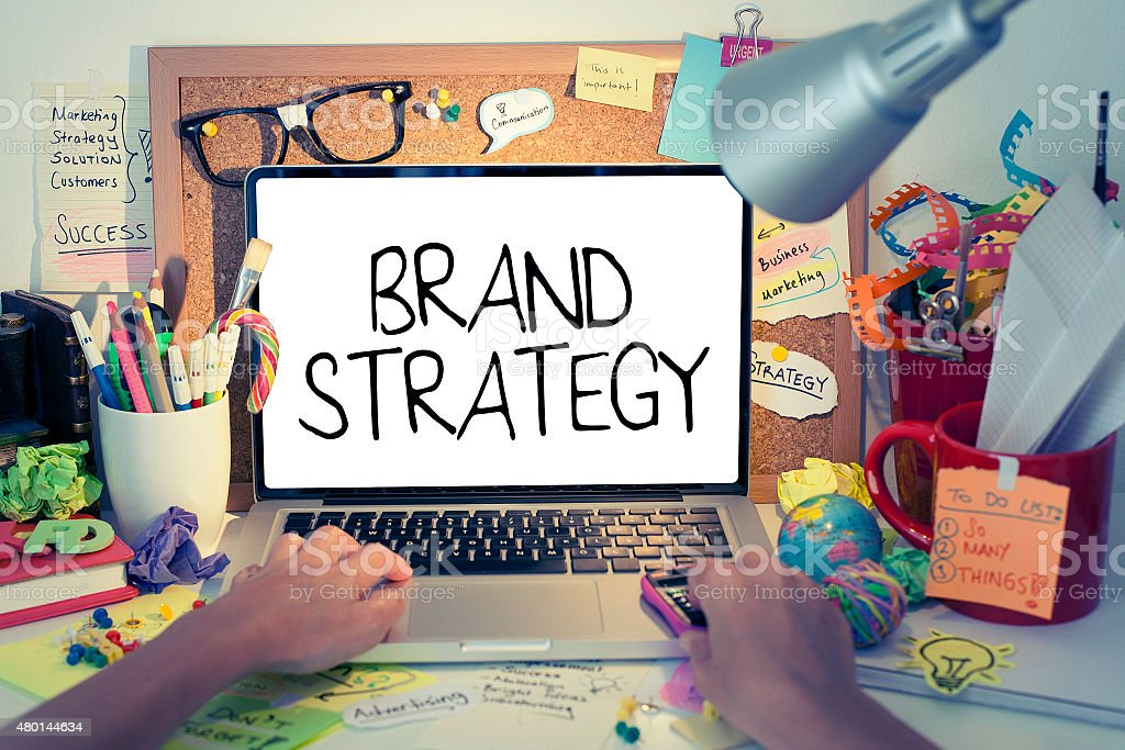 Brand Strategy stock photo
