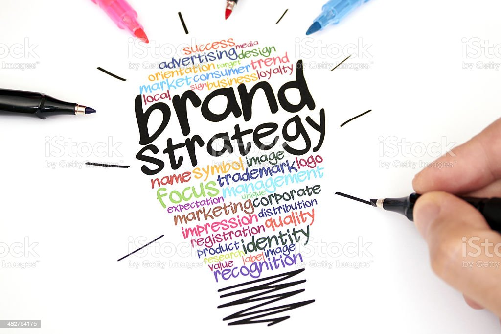 Brand Strategy stock photo