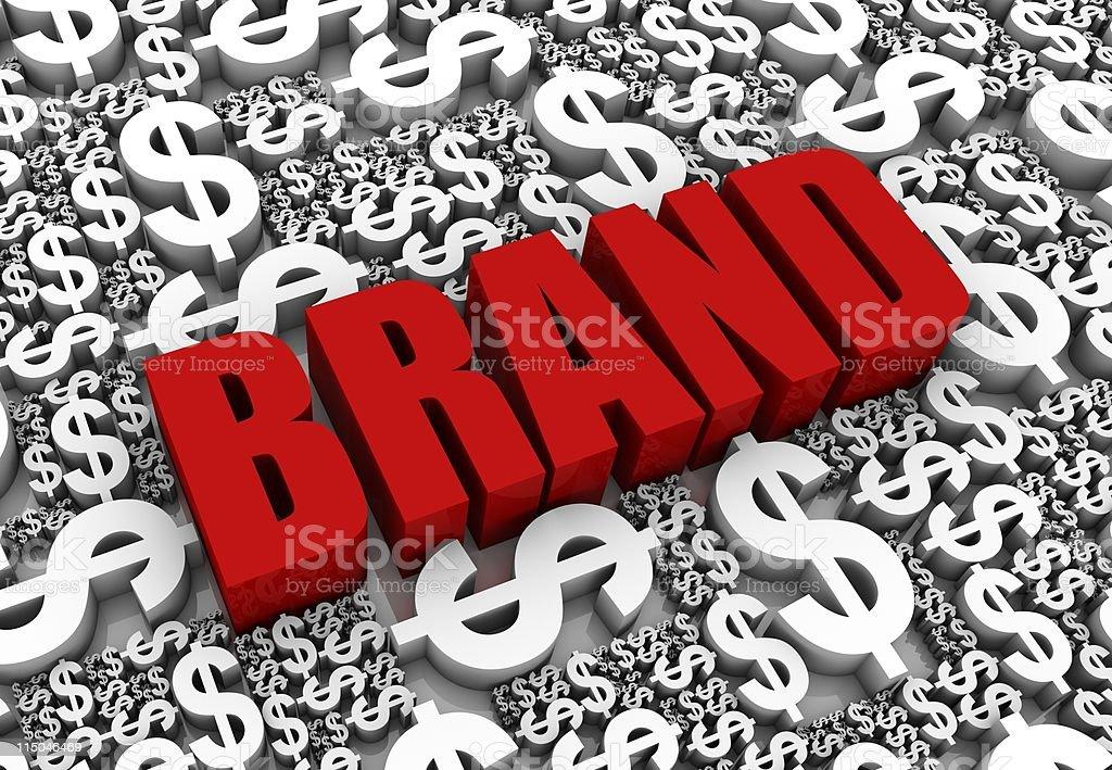 Brand Success royalty-free stock photo