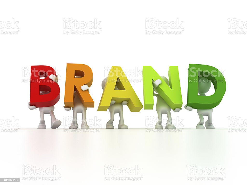 Brand Team royalty-free stock photo
