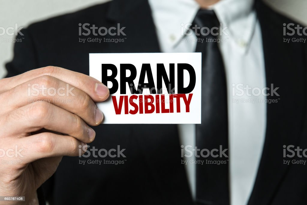 Brand Visibility - foto stock