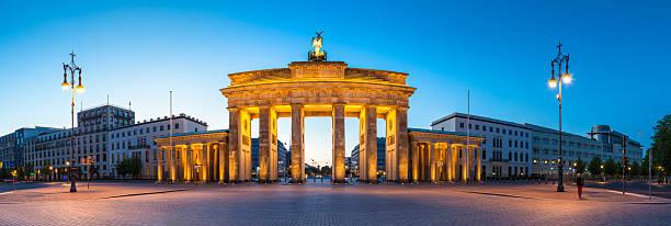 ブランデンブルグ門、ベルリン,ドイツ - グローサーシュテルン広場 ストックフォトと画像