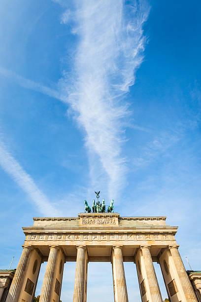 Brandenburger Tor in Berlin, Deutschland-Text place – Foto