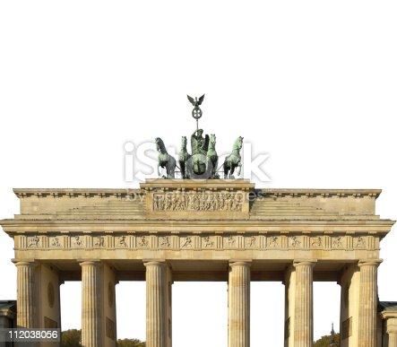 istock Brandenburg Gate, Berlin 112038056