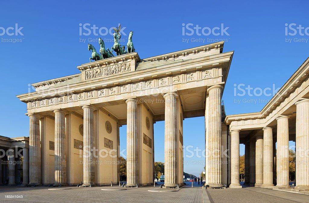 Brandenburg Gate, Berlin stock photo
