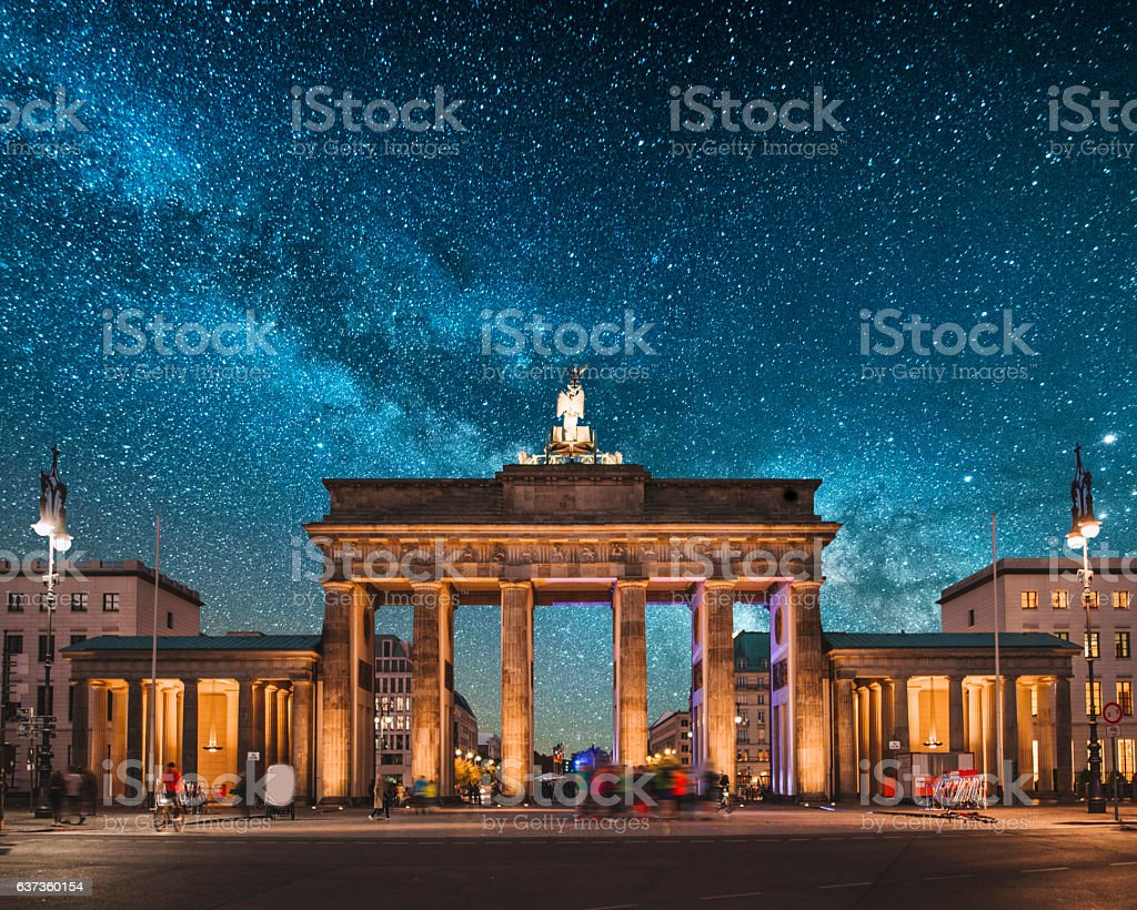 Brandenburg Gate, Berlin​​​ foto