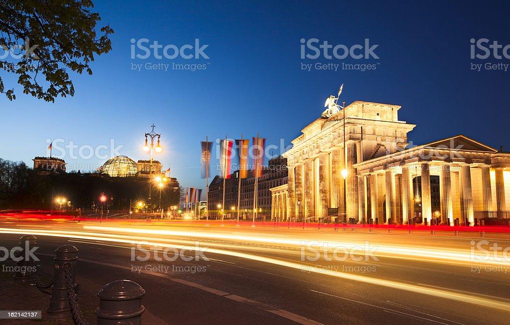 Brandenburger Tor in Berlin, Deutschland. – Foto