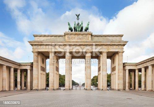 istock Brandenburg Gate, in Berlin, Germany 183020970