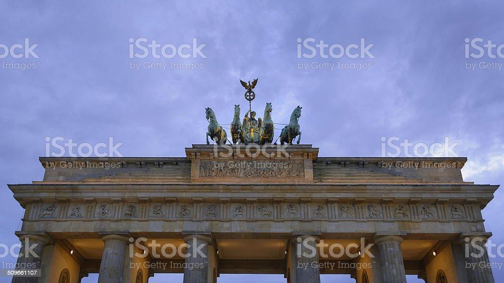 Portão de Brandenburgo - foto de acervo
