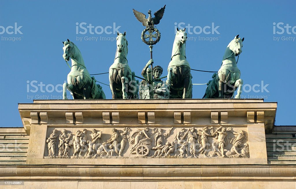 Brandenburg Horses 3 stock photo