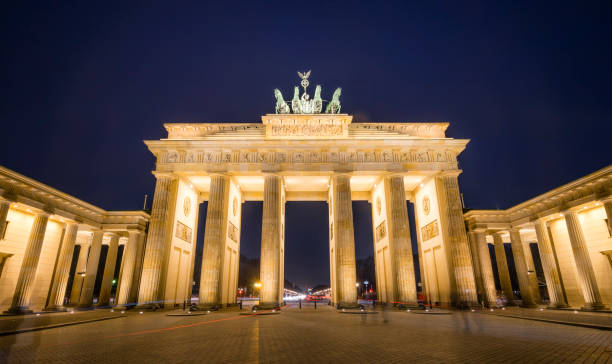 Brandenburger Gate, Berlin stock photo