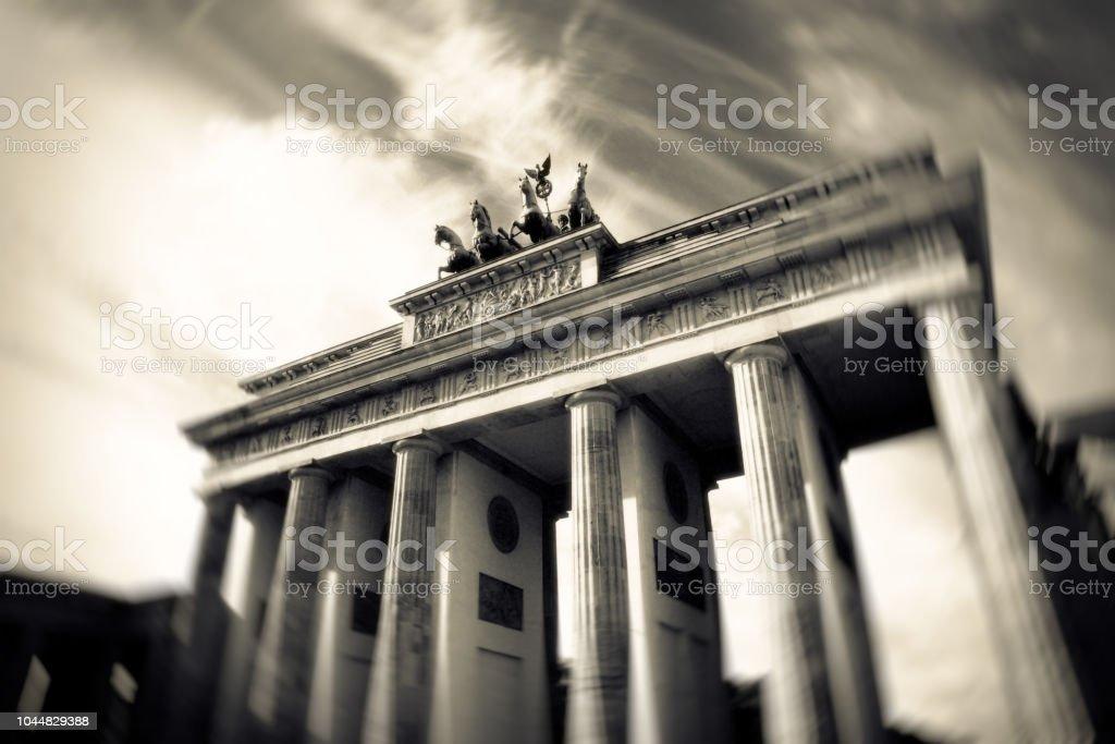 Brandenburger Tor in Berlin stock photo