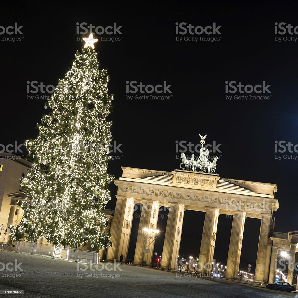 brandenburger tor royalty-free stock photo