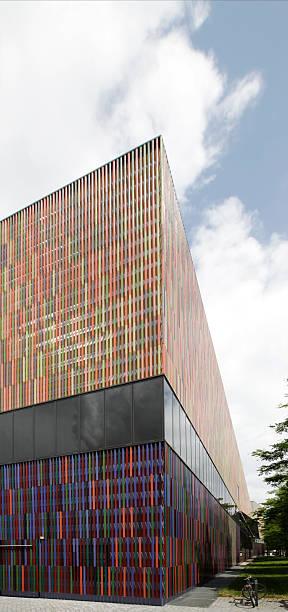 Brandhorst Museum, Munich stock photo