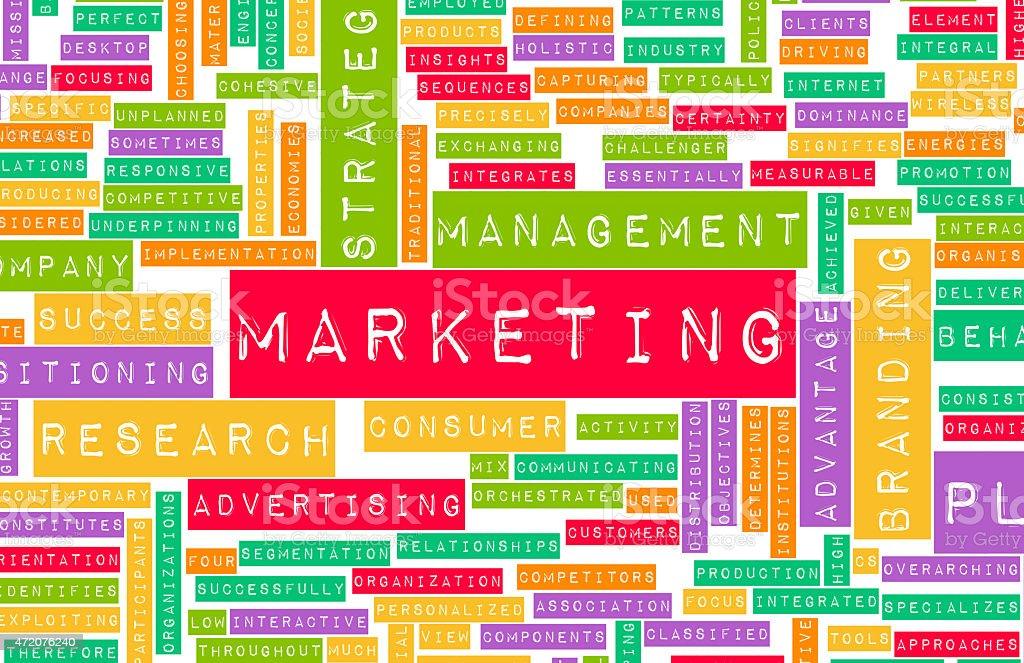 Marketing e Branding - foto stock