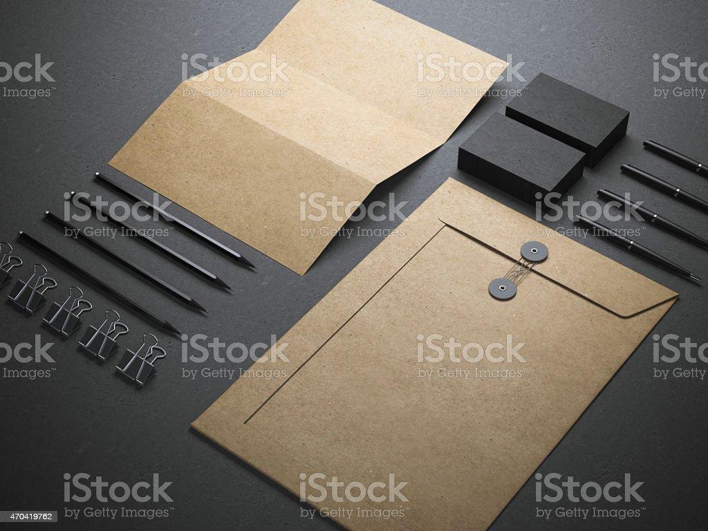branding elements stock photo