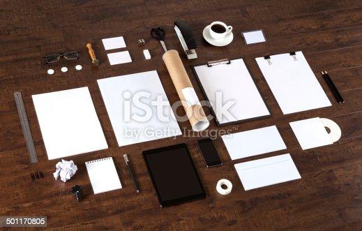 istock Branding identity 501170805