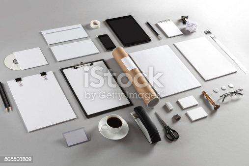 istock Branding identity 505503809