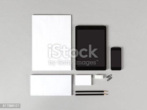 istock Branding identity 517365121