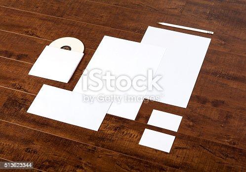 istock Branding identity stationary mock-up 513623344