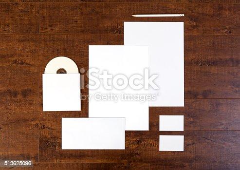 istock Branding identity stationary mock-up 513625096