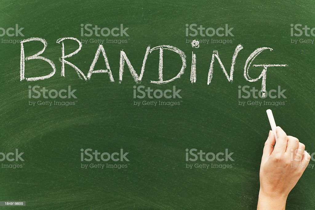 Branding royalty-free stock photo