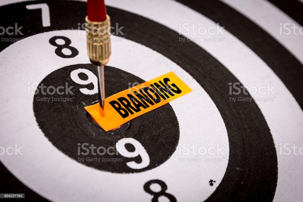 Branding Branding sign Advertisement Stock Photo