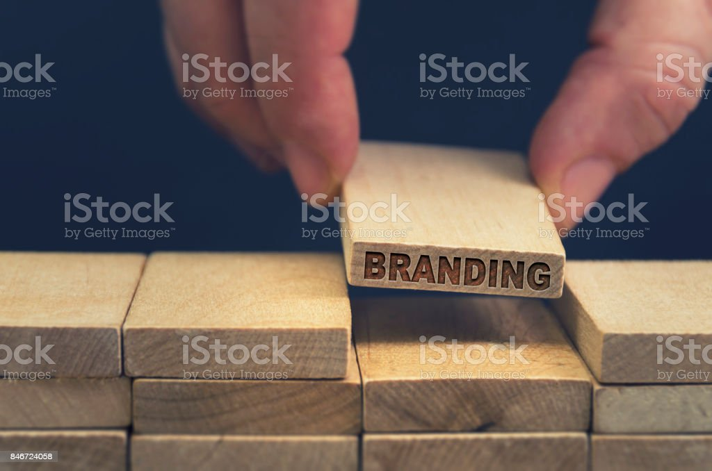 Branding стоковое фото