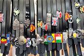 Brand-name Belts at the Flea Market