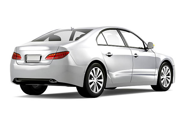 A brand-new silver car on a white background [size=12]3D Generic designed 3D car.[/size]  [url=http://www.istockphoto.com/file_search.php?action=file&lightboxID=13106188#1e44a5df][img]http://goo.gl/Q57Xz[/img][/url]  [img]http://goo.gl/Ioj7f[/img] generic description stock pictures, royalty-free photos & images