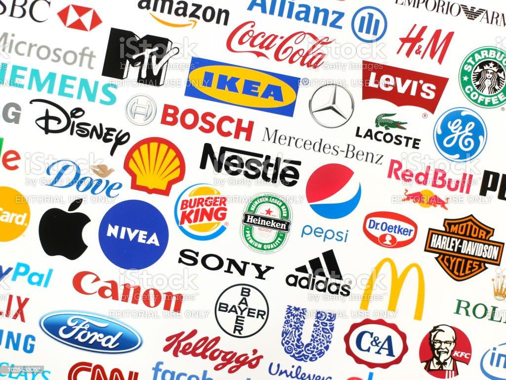Brands Stock Photo Download Image Now Istock
