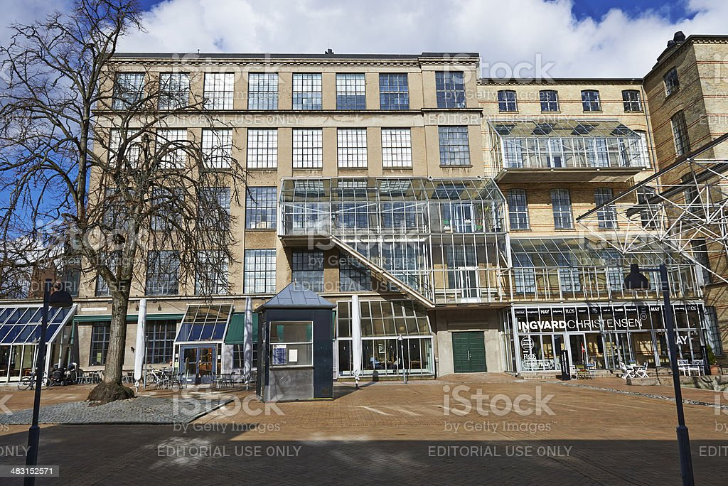 Brandts museum in Odense stock photo