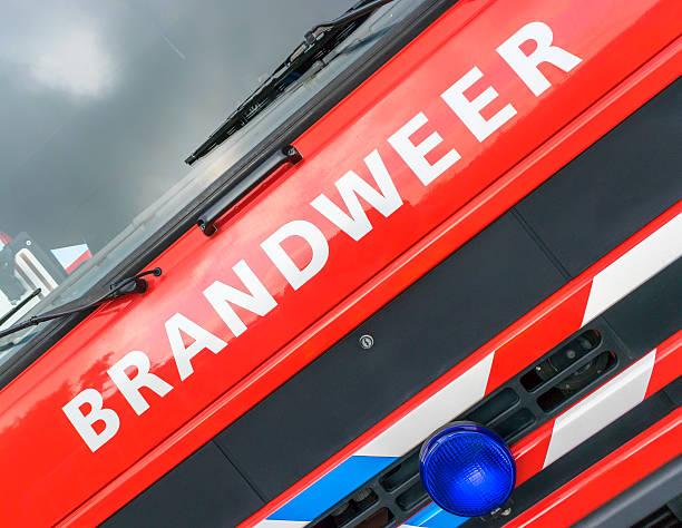 Brandweer-vigili del fuoco - foto stock