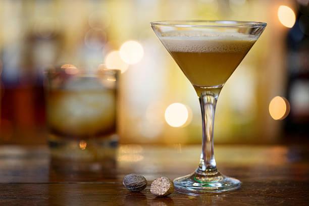 Brandy Alexander Brandy Alexander Drink brandy stock pictures, royalty-free photos & images
